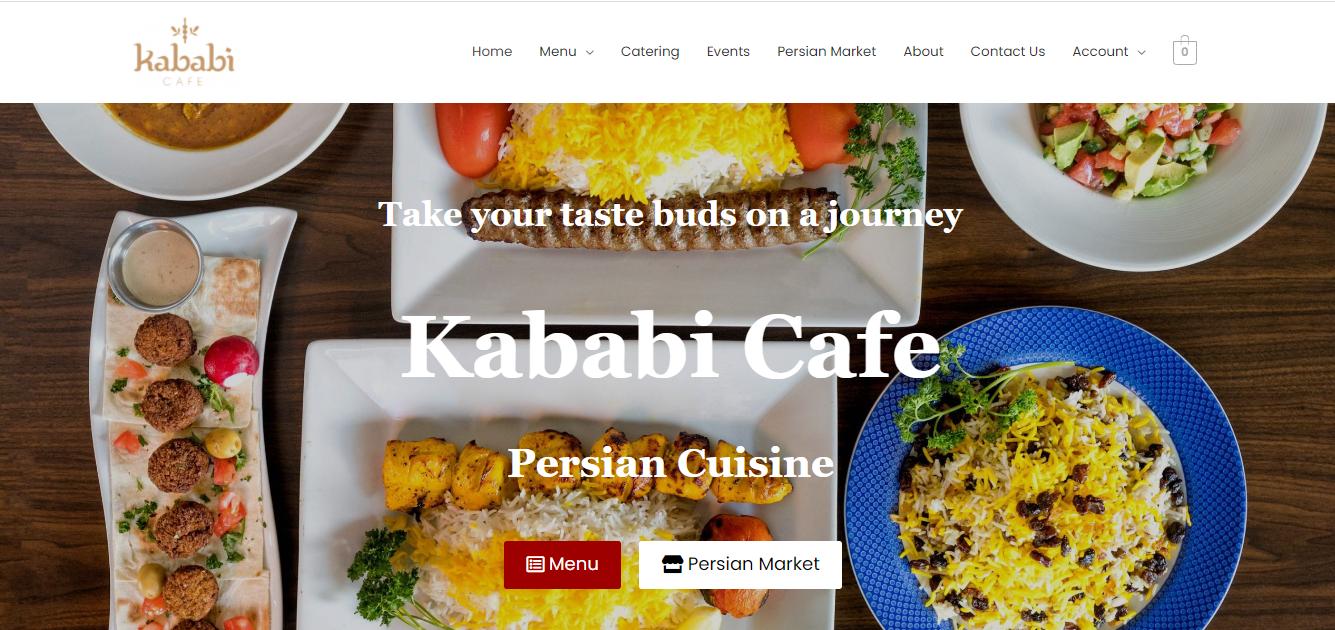Website designer for restaurants